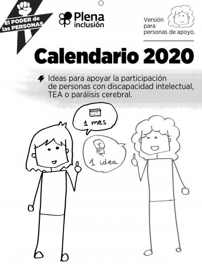 Calendario 2020 Plena inclusión