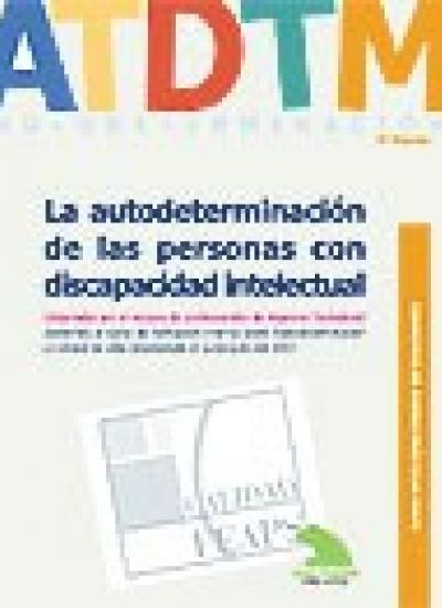 Portada del Cuadernos de Buenas Prácticas. La autodeterminación de las personas con discapacidad intelectual