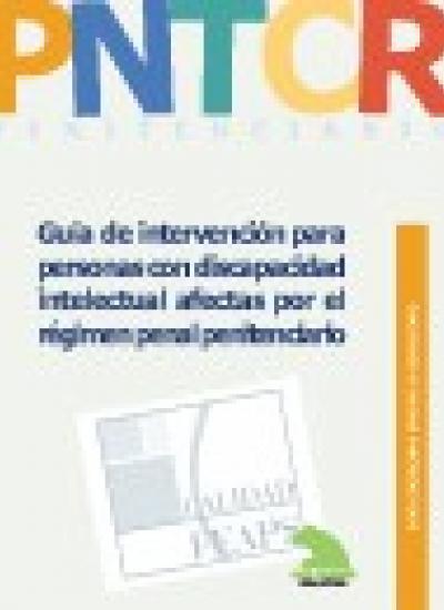 Portada del Cuaderno de Buenas Prácticas. Guía de intervención para personas con discapacidad intelectual afectadas por el régimen penal penitenciario