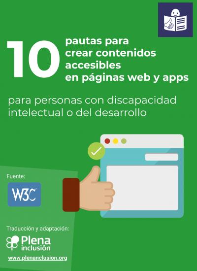 10 pautas para crear contenidos accesibles en páginas web y apps