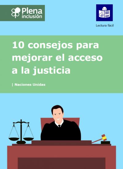 portada 10 consejos para mejorar el acceso a la justicia