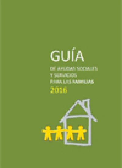 Portada de la Guía de Ayudas Sociales y Servicios para Familias 2016