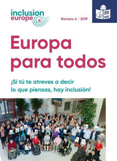 Portada de Europa para todos 4 / 2019