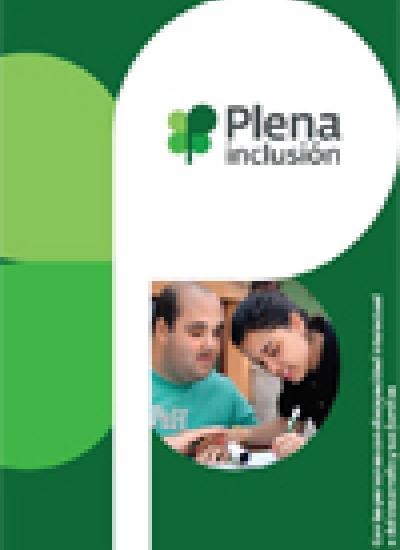 Portada del folleto corporativo de Plena inclusión