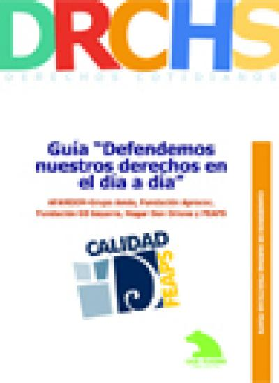 Portada de la Guía Defendemos nuestros derechos