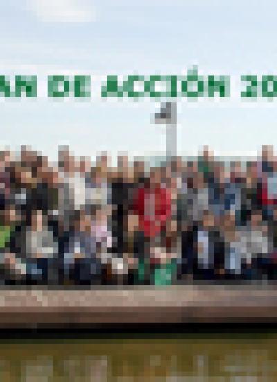 Portada del Plan de Acción de Plena inclusión 2017
