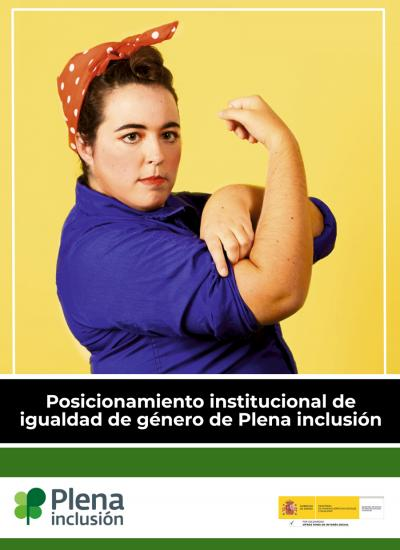 Portada posicionamiento de igualdad de género