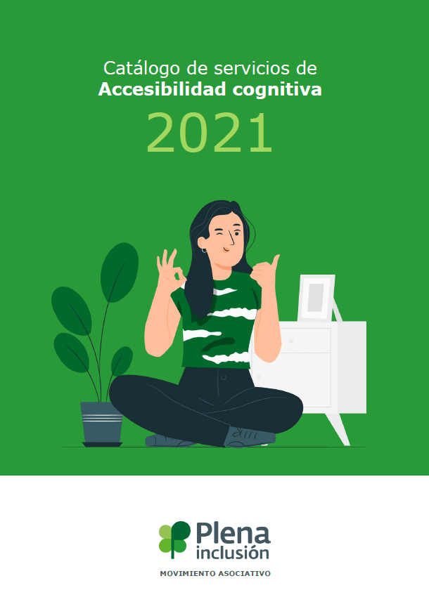 portada catálogo de servicios de accesibilidad cognitiva