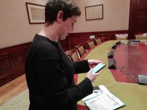 Teresa Arévalo prueba Mefacilyta