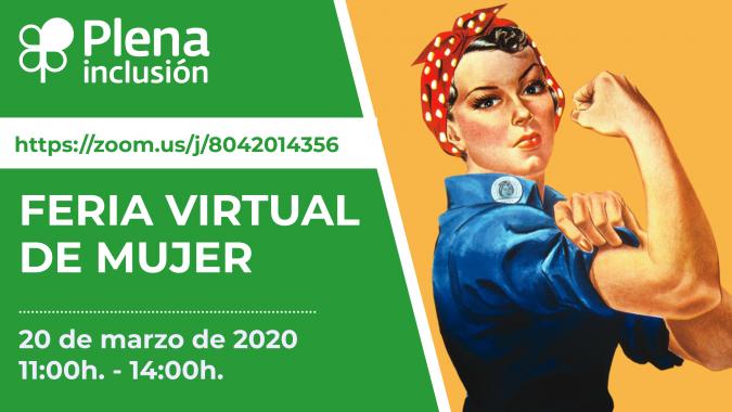 cartel feria virtual