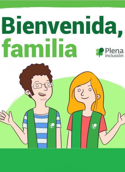 portada guía Bienvenida, familia