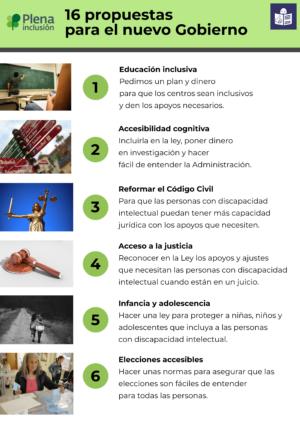Ver Infografía. 16 propuestas para el nuevo Gobierno