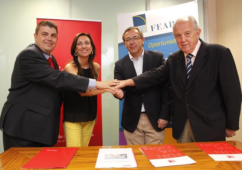 Ir a FEAPS, Fundación Universia y Banco Santander colaboran por la inclusión de las personas con discapacidad intelectual