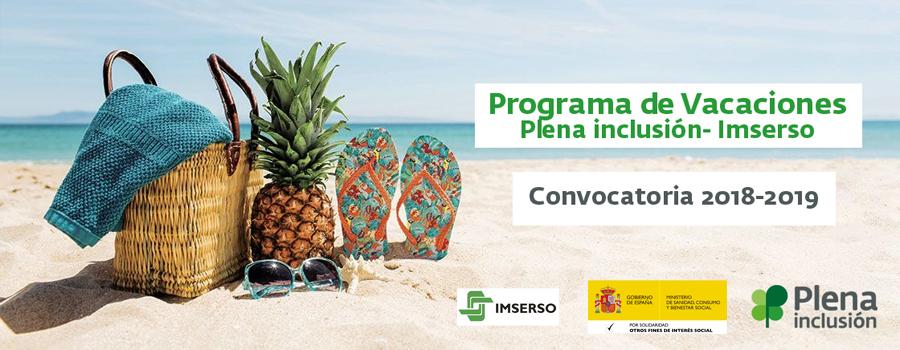 Ir a : ¿Sabés que puedes participar en el Programa de Vacaciones-Imserso de Plena inclusión?
