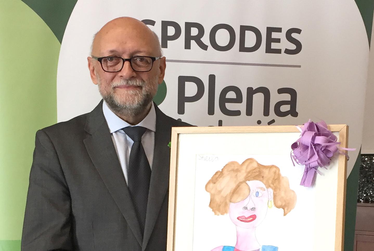 Ir a : Asprodes galardona a Javier Tamarit en su V Premio por su brillante trayectoria profesional centrada en la mejora de la calidad de vida de las personas