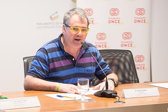 Ir a : Victorio Latasa, primer representante con discapacidad intelectual en el Patronato de la Fundación ONCE