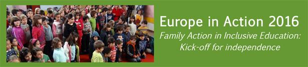 Ir a : Participamos en el encuentro europeo «Europe in Action 2016»