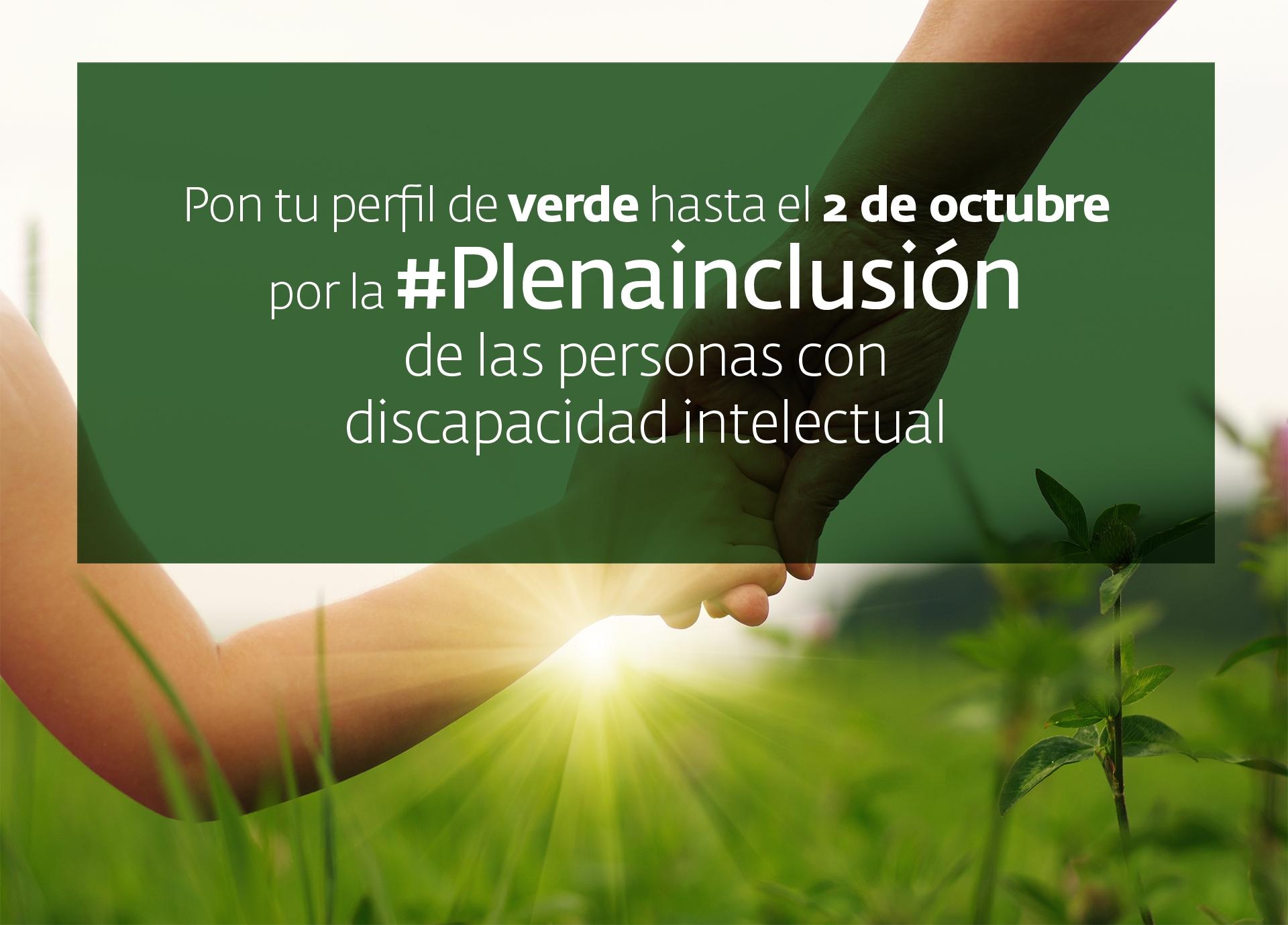 Ir a : España se tiñe de verde por la #Plenainclusión