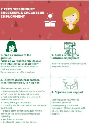 Ver 7 tips to conduct successful inclusive empleyment