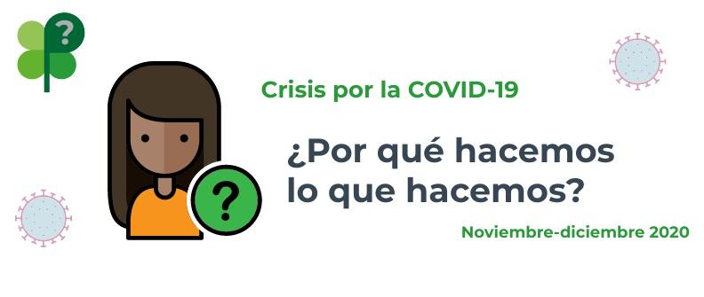 Ir a : ¿Por qué hacemos lo que hacemos contra la COVID-19? Acciones de Plena inclusión en noviembre y diciembre