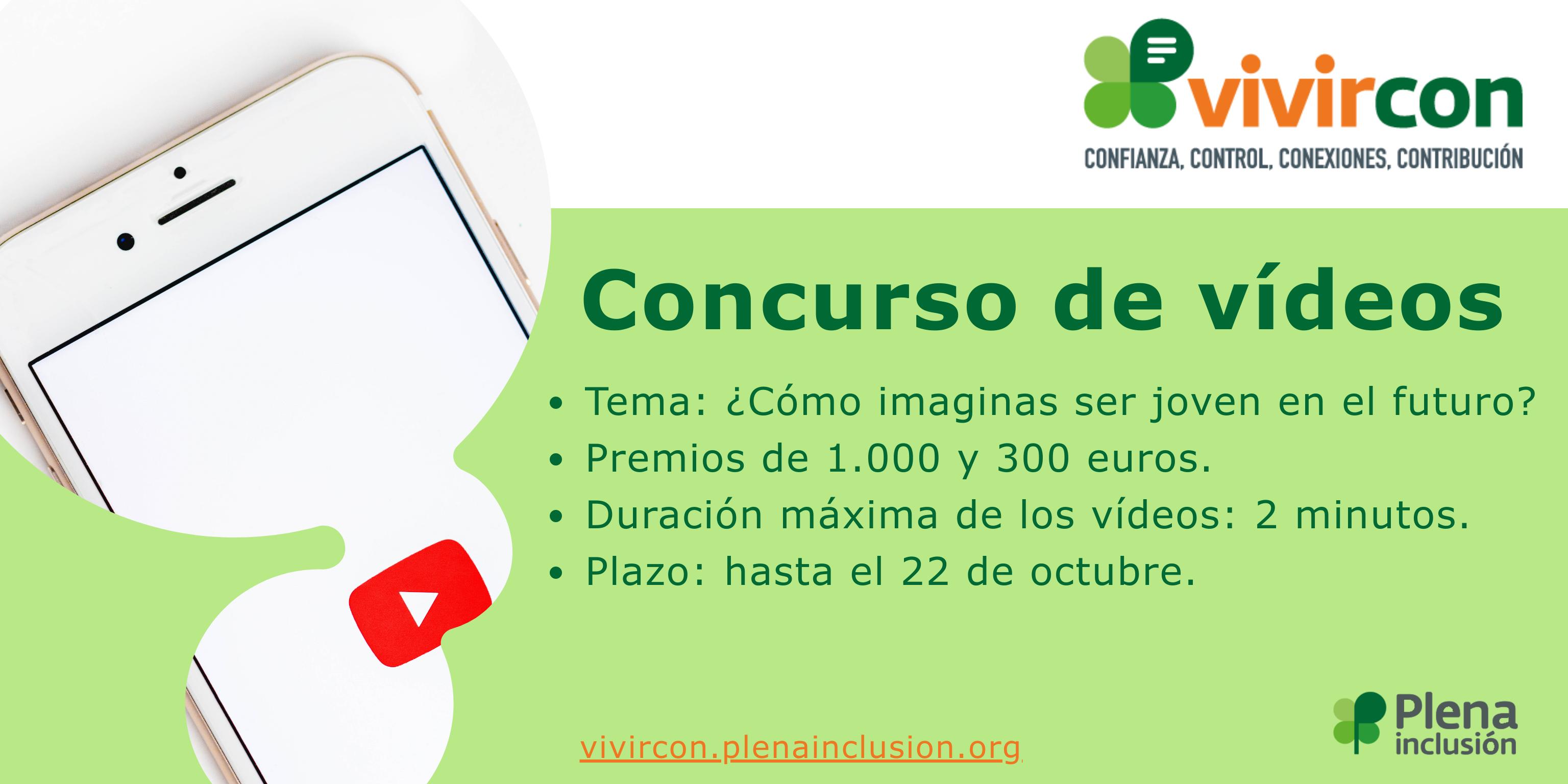 Ir a : Participa en el concurso de videos sobre '¿Cómo imaginas el futuro para la gente joven?' y podrás ganar 1.000 euros