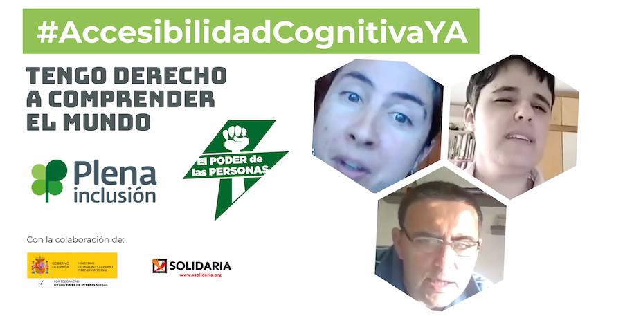 Ir a : Personas con discapacidad intelectual piden a PSOE y Unidas Podemos que permitan el reconocimiento legal de la accesibilidad cognitiva