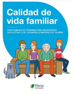 Ver Calidad de Vida Familiar, para familias de personas mayores de 18 años