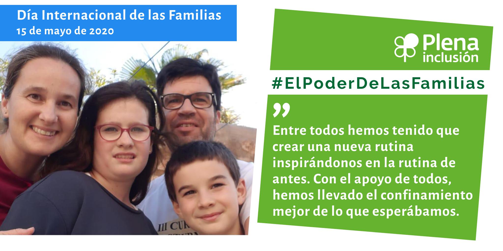 Ir a : Familiares de Plena inclusión manifiestan #ElPoderDeLasFamilias durante la crisis del COVID-19