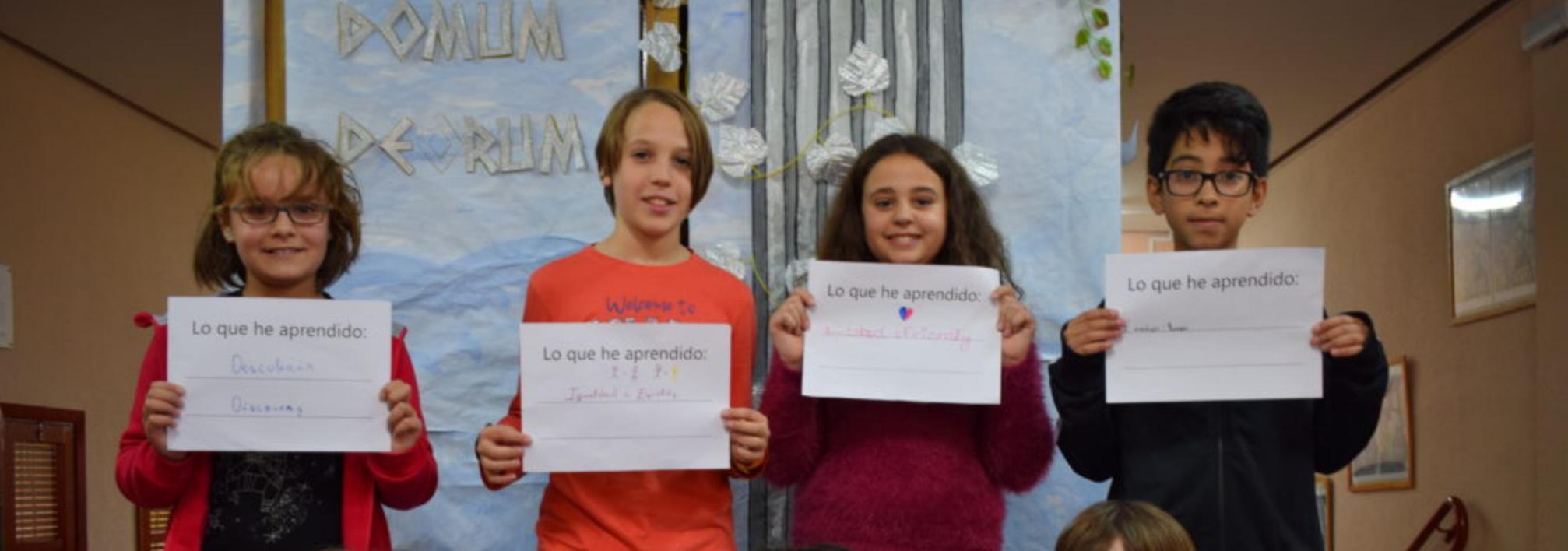 Ir a : Inclusion Europe relanza su campaña sobre educación inclusiva #ThatsWhatILearned