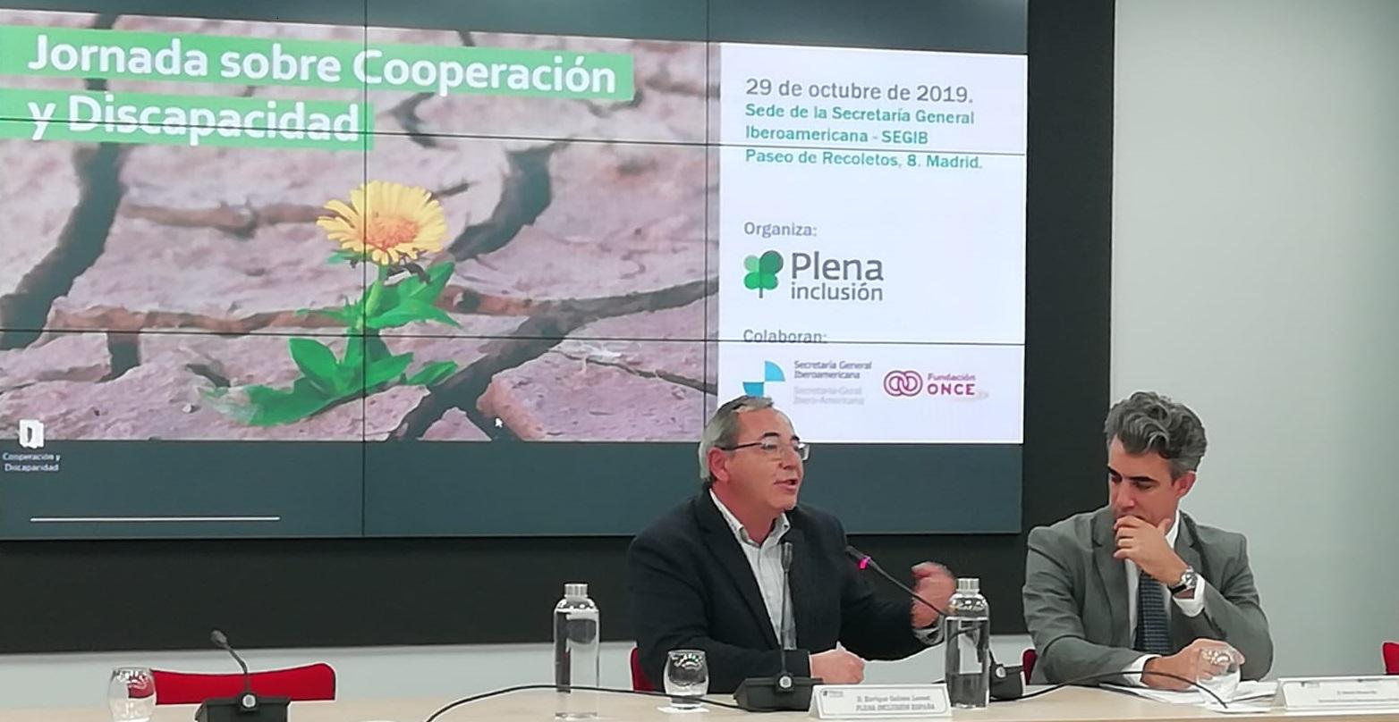 Ir a : Plena inclusión analiza en Madrid diferentes proyectos de cooperación y discapacidad