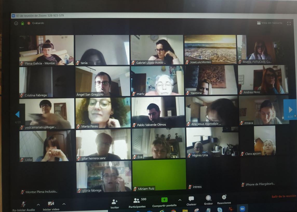 Ir a : Plena inclusión abre espacios de comunicación online para resolver dudas y compartir experiencias sobre las personas con discapacidad intelectual