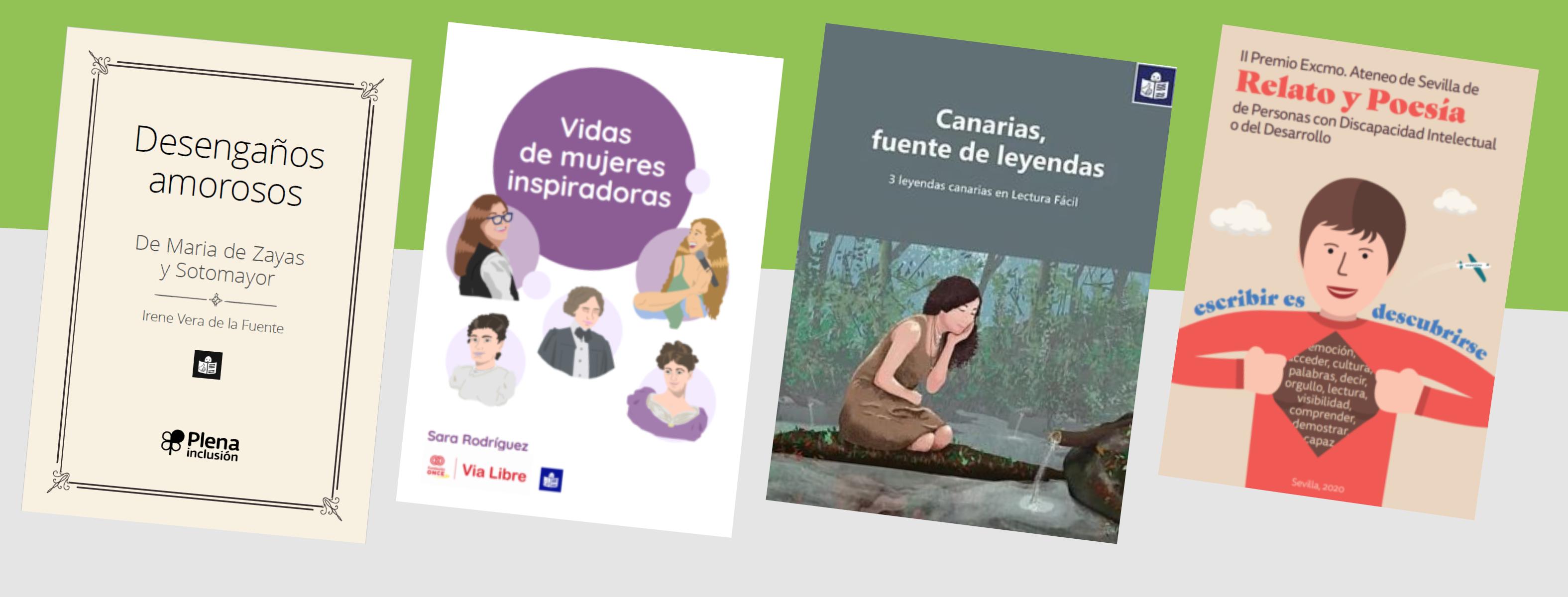 Ir a : Plena inclusión organiza la presentación de 4 nuevos libros de lectura fácil