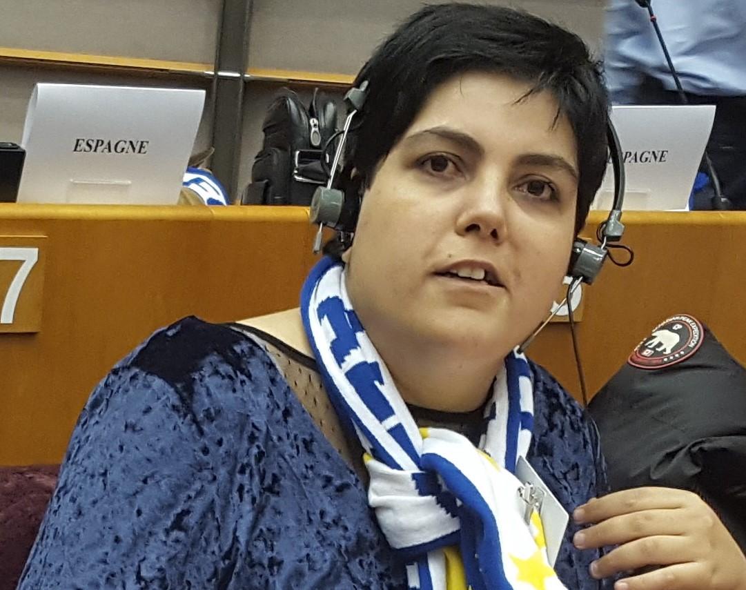 Ir a : Maribel Cáceres se convierte en la primera persona con discapacidad intelectual en formar parte del Comité Ejecutivo de CERMI Estatal