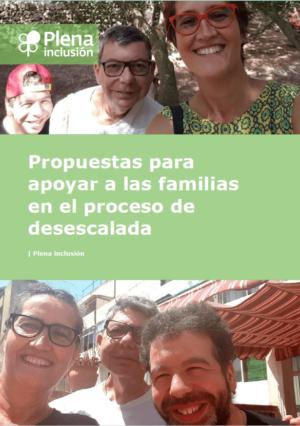 Ver Plena inclusión. Propuestas para apoyar a las familias en el proceso de desescalada