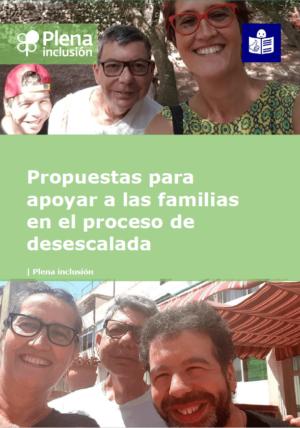Ver Plena inclusión. Propuestas para apoyar a las familias en el proceso de desescalada. Lectura fácil.