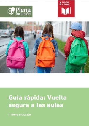 Ver Guía rápida: Vuelta segura a las aulas