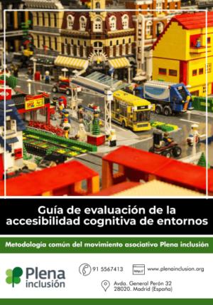 Ver Guía de evaluación de la accesibilidad cognitiva de entornos