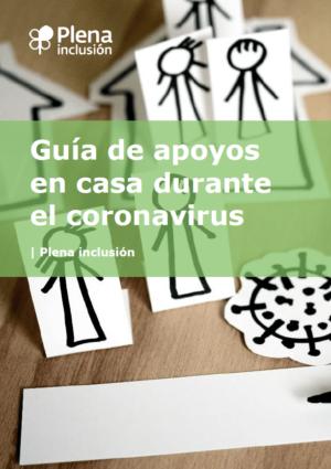 Ver Guía apoyos en casa durante el coronavirus