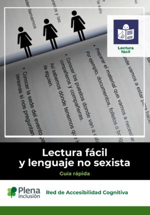 Ver Guía Lectura fácil y lenguaje no sexista