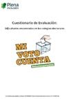 Ver Cuestionario de accesibilidad cognitiva en Colegios Electorales