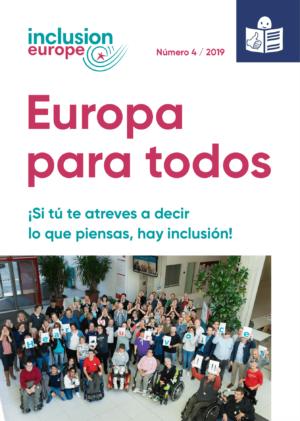 Ver Europa para todos 4 / 2019