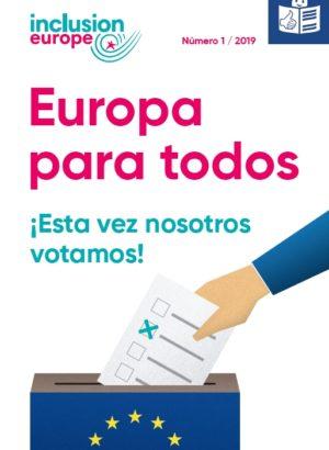 Ver Europa para todos 1 / 2019