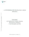 Ver Informe de Auditoría de Cuentas de Plena inclusión España 2016