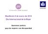 Ver Manifiesto de Cermi por el Día Internacional de la Mujer 2018 (Lectura Fácil)