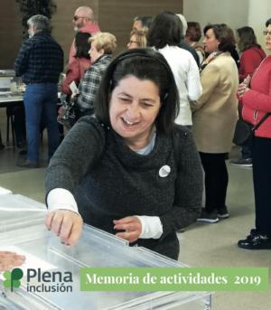 Ver Informe anual (Memoria de Actividades) de Plena inclusión España 2019 (editada)