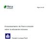 Ver Posicionamiento de Plena inclusión sobre la Educación Inclusiva (Lectura Fácil)