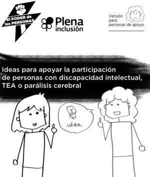 Ver Ideas para apoyar la participación de personas con discapacidad intelectual, TEA o parálisis cerebral