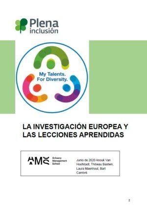 Ver La Investigación Europea y las Lecciones Aprendidas