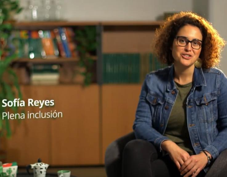"""Ir a : Sofía Reyes: """"La asistencia personal ayuda a que todas las personas podamos ejercer nuestro derecho a la vida independiente"""""""