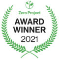 logo premio zero project 2021 ganador award winner